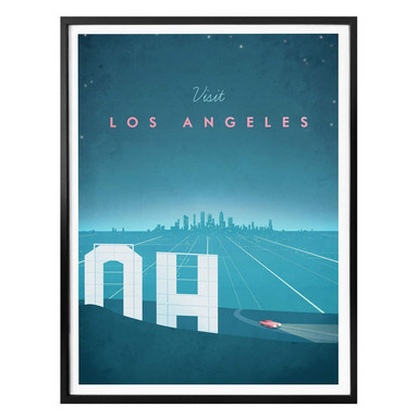 Poster Rivers - Los Angeles