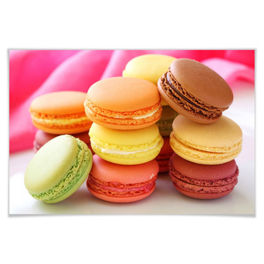 Poster Sweet Macarons