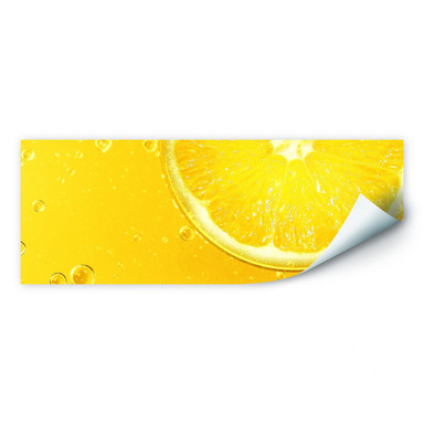 Wallprint Lemon Squeezy - Panorama