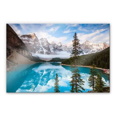 Acrylglasbild Colombo - Banff Nationalpark in Kanada