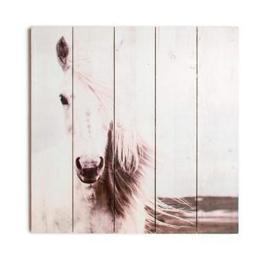 Holzbild HORSE - Bild 1