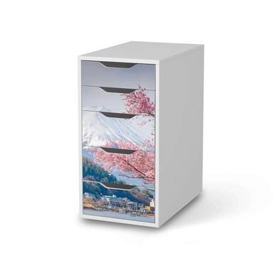 Klebefolie IKEA Alex 5 Schubladen - Mount Fuji