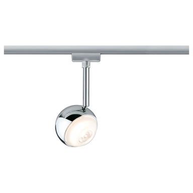 LED URail System Spot Capsule II, dimmbar, Metall, chrom matt