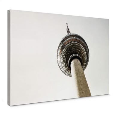 Leinwandbild Der Fernsehturm