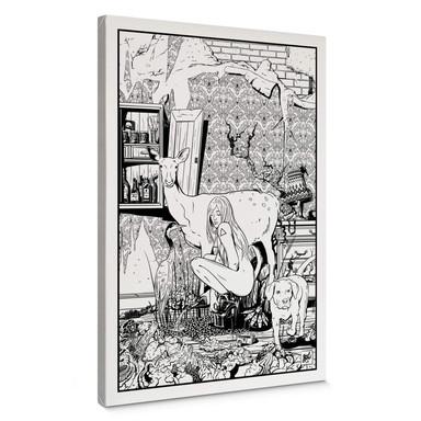 Leinwandbild Drawstore - In the Livingroom
