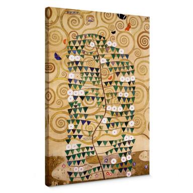 Leinwandbild Klimt - Entwurf für den Stocletfries