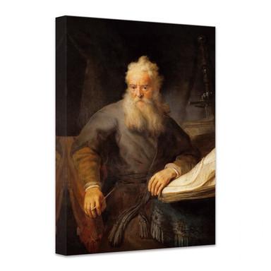 Leinwandbild Rembrandt - Apostel Paulus