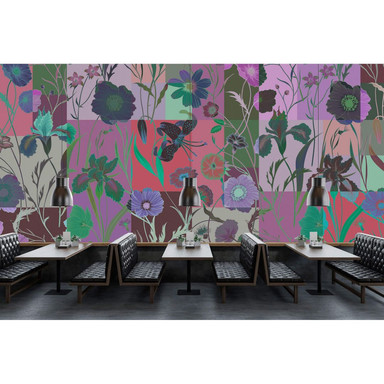 Livingwalls Fototapete Walls by Patel 2 floral patch 1 - Bild 1