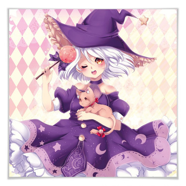 Poster La Doll Blanche - Little Witch