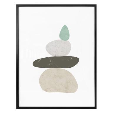 Poster Nouveauprints - Pebbles 3