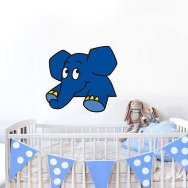 Wandsticker Elefant 14