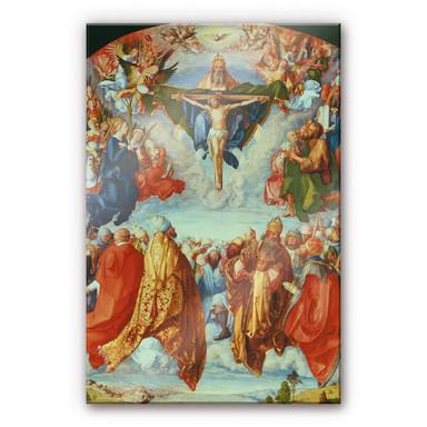 Acrylglasbild Dürer - Das Allerheiligenbild