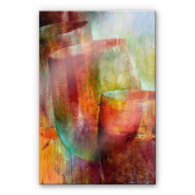 Acrylglasbild Schmucker - Zwei Gläser