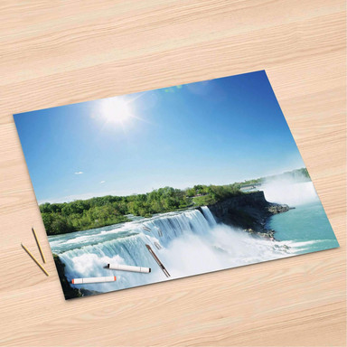 Folienbogen (120x80cm) - Niagara Falls