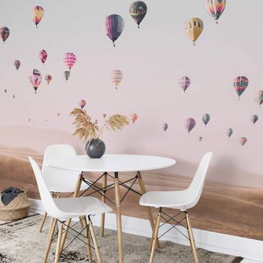 Fototapete Sisi & Seb - Heissluftballons - 384x260cm