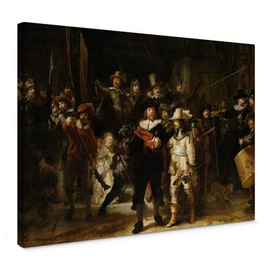 Leinwandbild Rembrandt - Die Nachtwache