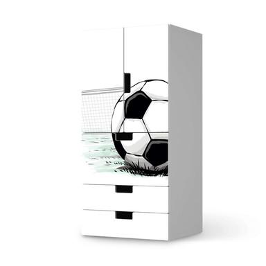 Möbelfolie IKEA Stuva / Malad - 3 Schubladen und 2 kleine Türen - Freistoss