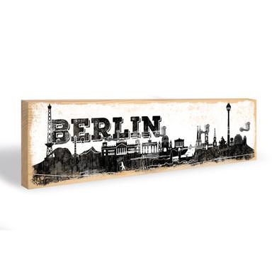 Schlüsselbrett Berliner Skyline