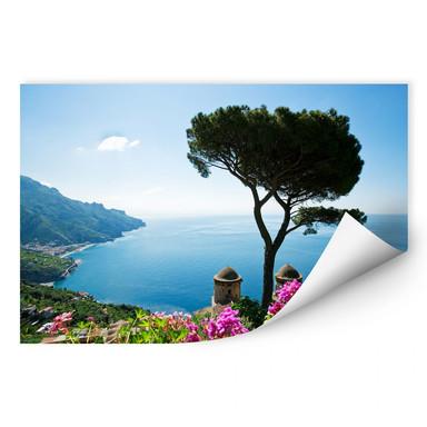 Wallprint Blick auf die Amalfiküste