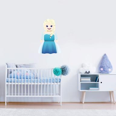 Wandtattoo Gomes - Elsa Frozen Spielzeug