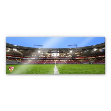Acrylglasbild VfB Stuttgart Arena Tribüne - Panorama