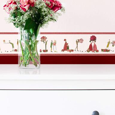 Bordüre Leffler - Rosenfeen