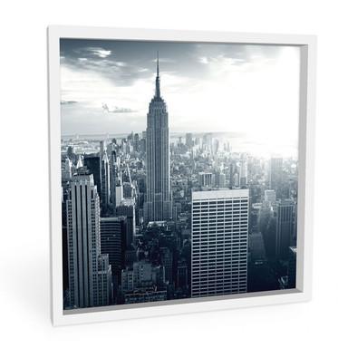 Hartschaumbild The Empire State Building - quadratisch