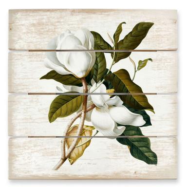 Holzbild Ehret - Magnolie