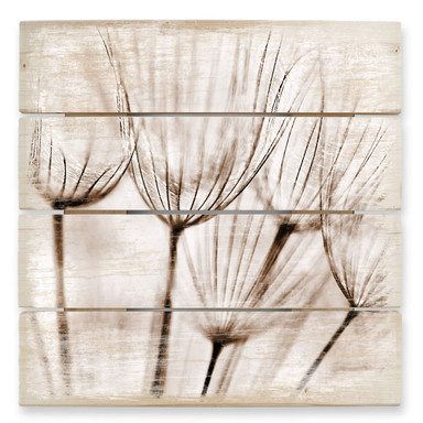 Holzbild Fliegerschirmchen