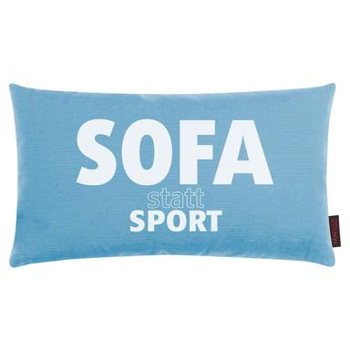 Kissen Sofa statt Sport - Bild 1