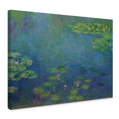 Leinwandbild Monet - Seerosenteich