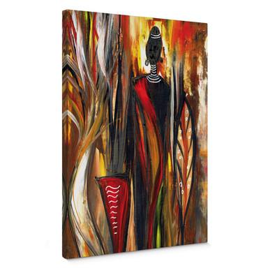 Leinwandbild Niksic - Art of Africa 02