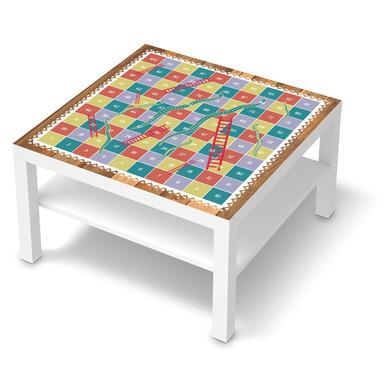 Möbelfolie IKEA Lack Tisch 78x78cm - Spieltisch Leiternspiel
