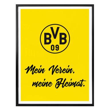 Poster - BVB Mein Verein, meine Heimat