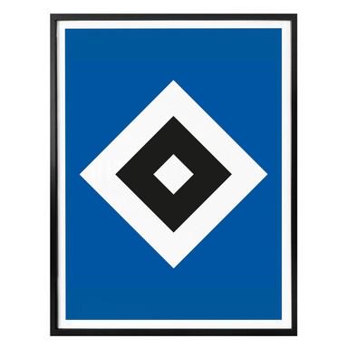 Poster HSV Raute