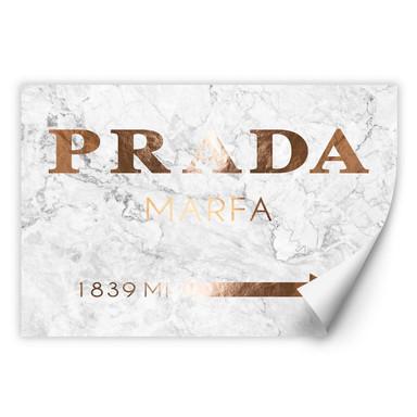 Wallprint Kupferoptik - Prada Marfa