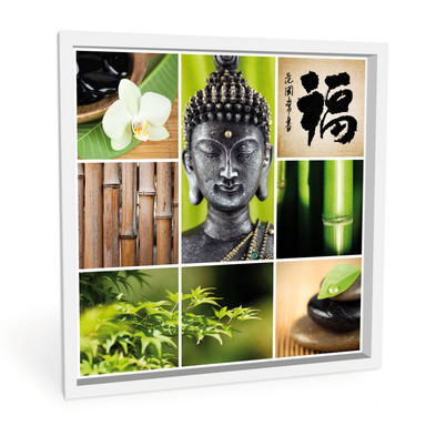Wandbild Asian Spa - quadratisch