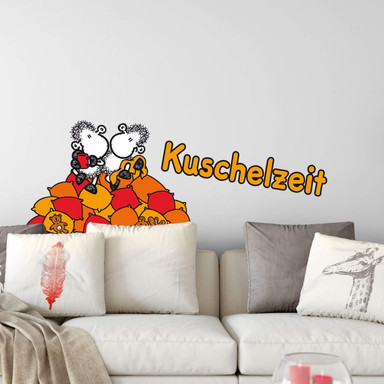 Wandsticker sheepworld Kuschelzeit