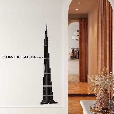 Wandtattoo Burj Khalifa