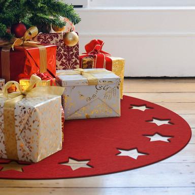 Weihnachtsbaumdecke - Sternenkranz