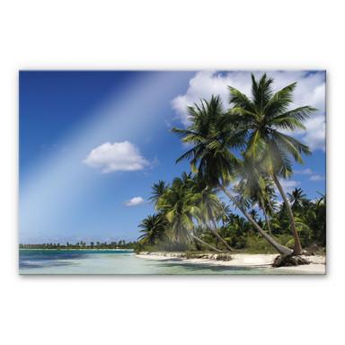 Acrylglasbild Carribean Flair