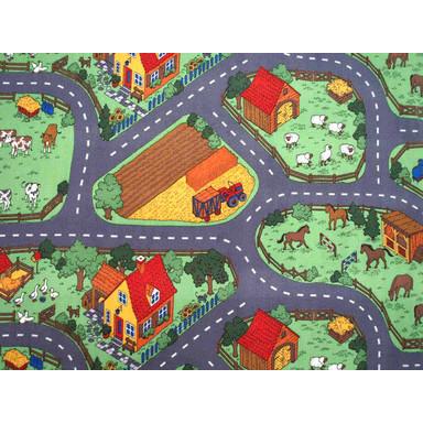 Bauernhof Kinder Teppichboden