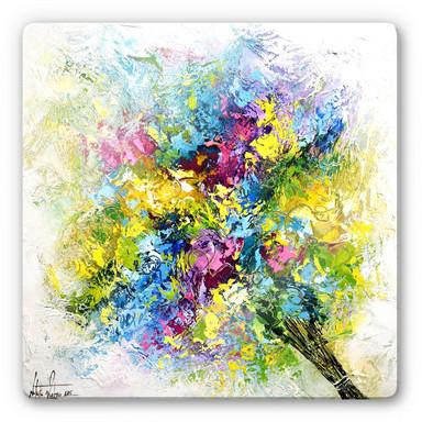 Glasbild Fedrau - Lass Blumen sprechen 02