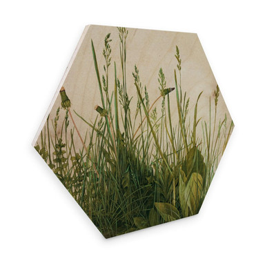 Hexagon - Holz Dürer - Das grosse Rasenstück