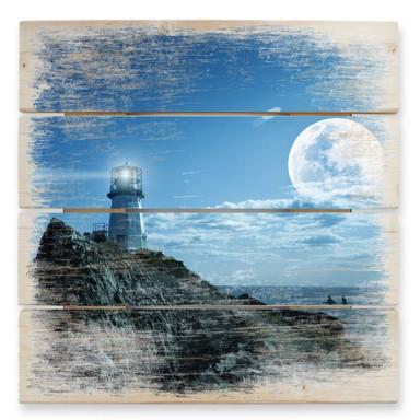 Holzbild Lighthouse