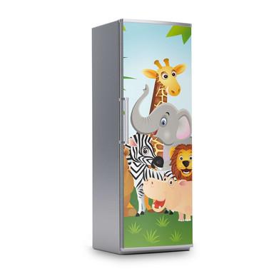 Kühlschrankfolie 60x180cm - Wild Animals- Bild 1