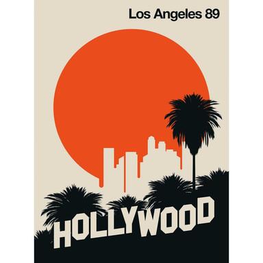 Livingwalls Fototapete ARTist Los Angeles 89 beige, orange, schwarz - Bild 1