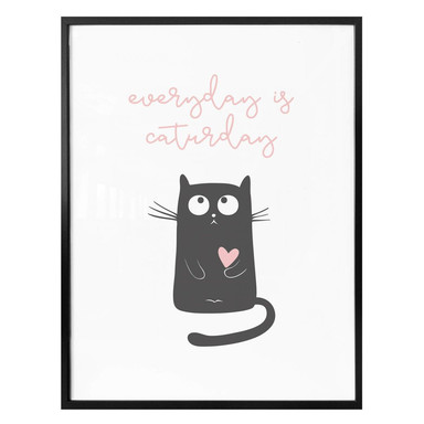 Poster - Everyday is caturday