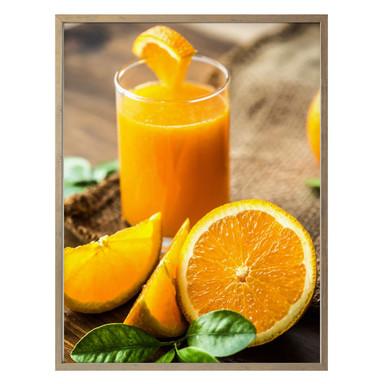 Poster Frischer Orangensaft