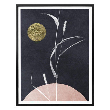 Poster Kubistika - Vollmond